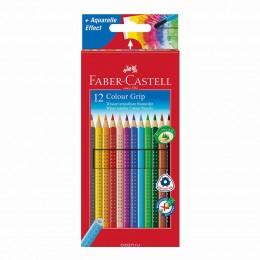 "Карандаши цветные ""Faber Castell"" GRIP, набор 12 цветов"