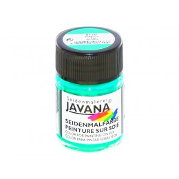15 зеленая холодная  8176 Javana краска по шелку 50мл