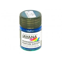 26-1 синяя ночь  8196 Javana краска по шелку 50мл