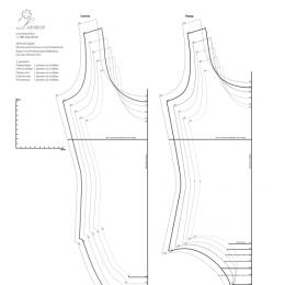 Шьем боди под гимнастический купальник. Инструкция и выкройки. PDF-файл.