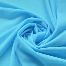 11 Светло-голубая сетка-стрейч