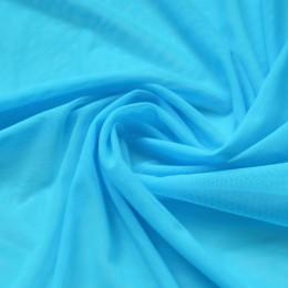 12 Голубая сетка-стрейч