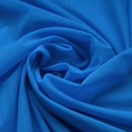 20-2 Синяя насыщенная сетка-стрейч