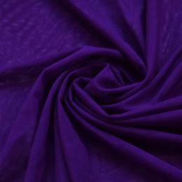 31-1 Темно-лиловая сетка-стрейч с блеском