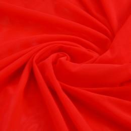 45 Флуо-красная сетка-стрейч