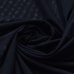02 Черная сетка-стрейч 0719/022, Италия