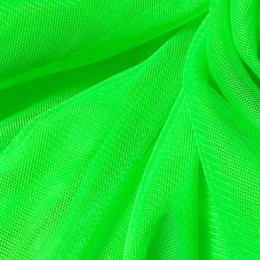 08 Флуо-зеленый стрейч фатин