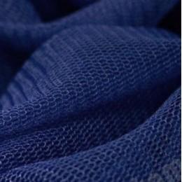 22 Темно-синий стрейч фатин