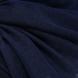 26 Черно-синий стрейч фатин