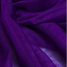 31 Темно-лиловый стрейч фатин