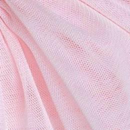 34 Светло-розовый стрейч фатин