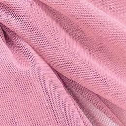36 Розовый холодный стрейч фатин