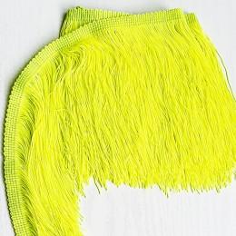 06 Флуо-желтая бахрома 15см, tropic lime
