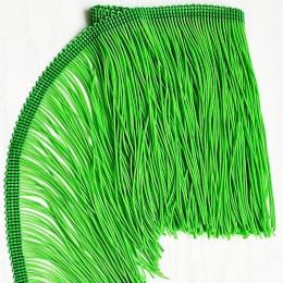 08 Флуо-зеленая бахрома 15см, light green