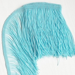 10 Мятно-голубая бахрома 15см,  blue lagoon