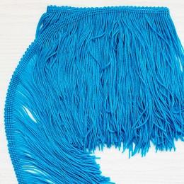 19-1 Голубая теплая бахрома 15 см, light turqouise