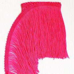 38 Флуо-розовый бахрома 15 см, cerise