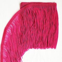 39 Флуо-темно-розовая бахрома 15 см, electric pink