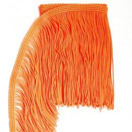 42 Коралловая теплая бахрома 15 см, sunglow