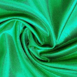 14 Зеленый на зеленом холодном бифлексе, голограмма эластичная, Италия