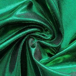 16-1 Темно-зеленая с переливом оттенков на черном бифлексе, голограмма эластичная Premium, Италия