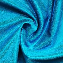 19-1 Голубой на голубом бифлексе, голограмма эластичная, Италия