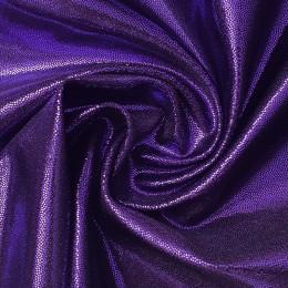 31 Фиолетовая на черном бифлексе, голограмма эластичная Premium, Италия