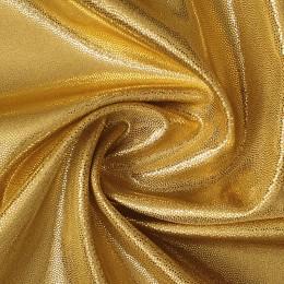 55-1 Золото на бежевом бифлексе, голограмма эластичная, Италия