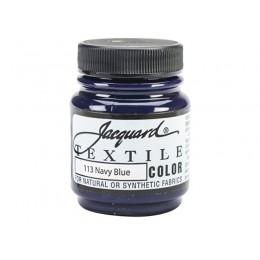 """Краска по ткани """"Jacquard Textile Colors"""" №113 черно-синий"""