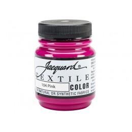 """Краска по ткани """"Jacquard Textile Colors"""" №104 розовый"""