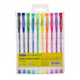 Набор 10 цветов Office Space гелевые ручки, 1.0 мм