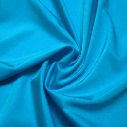 19 Голубой теплый насыщенный глянцевый бифлекс, Turchese, Италия, Carvico