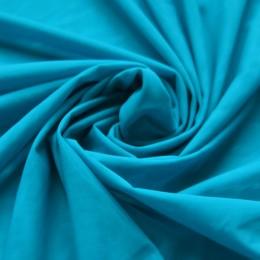 19 Голубая теплая насыщенная сетка-стрейч