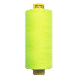 Флуо-желтый. Нитки GUTERMANN Mara 120 №3835