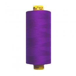 30 Яркий лиловый, фиолетовый. Нитки GUTERMANN Mara 120 №392