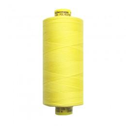 Теплый желтый. Нитки GUTERMANN Mara 120 №3897