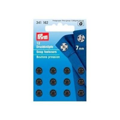 Кнопки пришивные  PRYM латунь 7 мм, черные