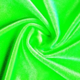 07 Флуо-зеленый гладкий бархат, Англия, Chrisanne
