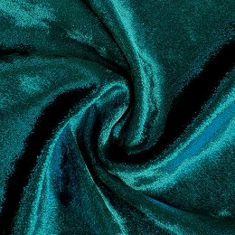 16 Темно-зеленый с эффектом  шиммер бархат, Англия, Chrisanne