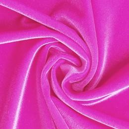 39 Флуо-розовый гладкий бархат, Англия, Chrisanne