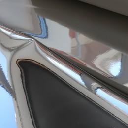 Серебро глянец , ткань зеркальная (винил)
