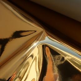 Золото глянец , ткань зеркальная (винил)