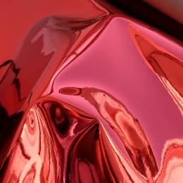Красный глянец , ткань зеркальная (винил)