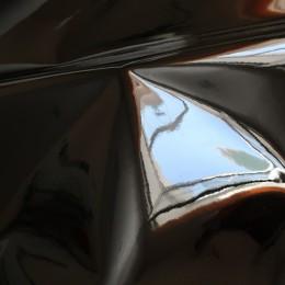Черный глянец , ткань зеркальная (винил)